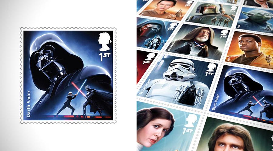 Sellos Star- War / Royal Mail