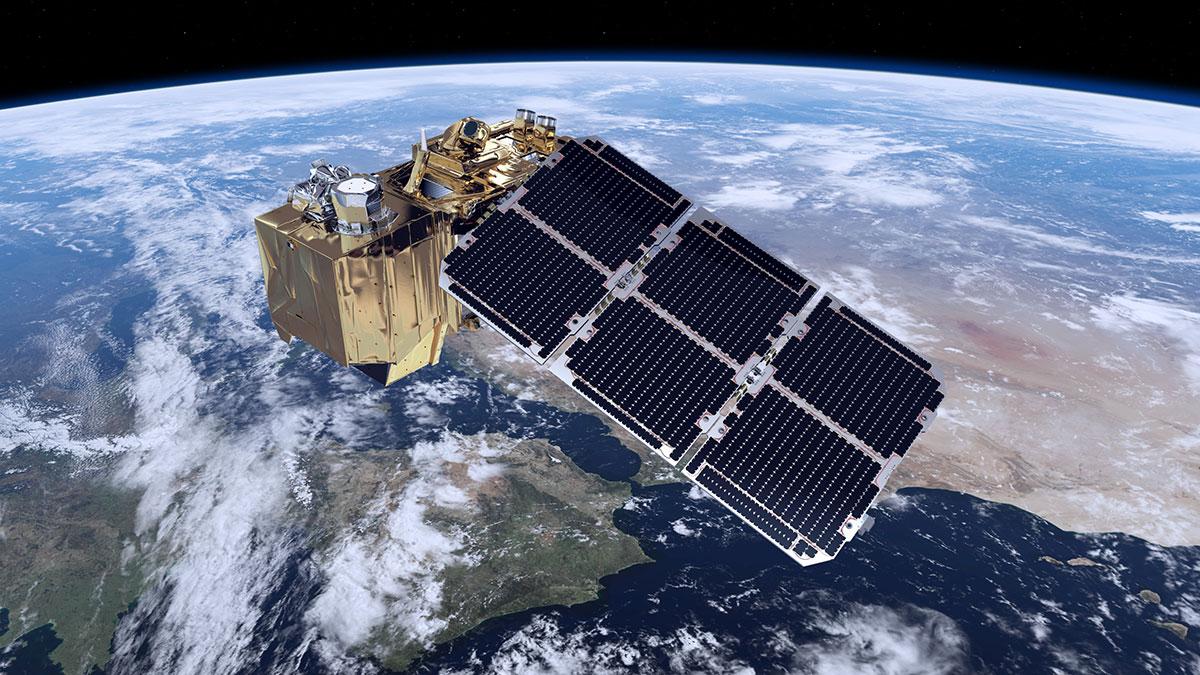 Sentinel2A en órbita