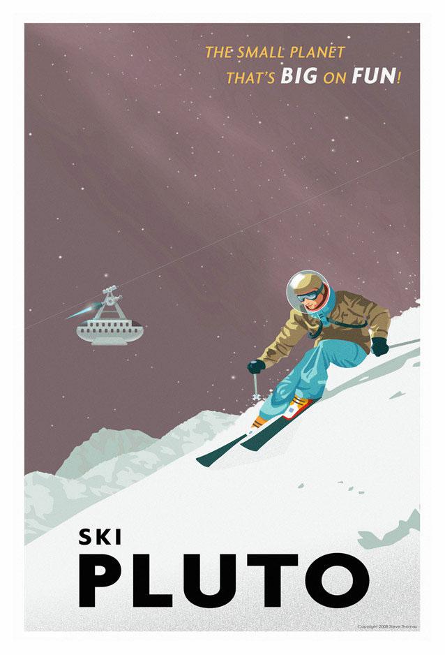 Esquiando en Plutón