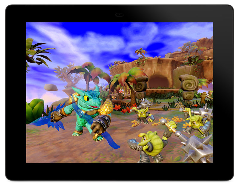 Skylanders-Trap-Team Tablet Snap-Shot
