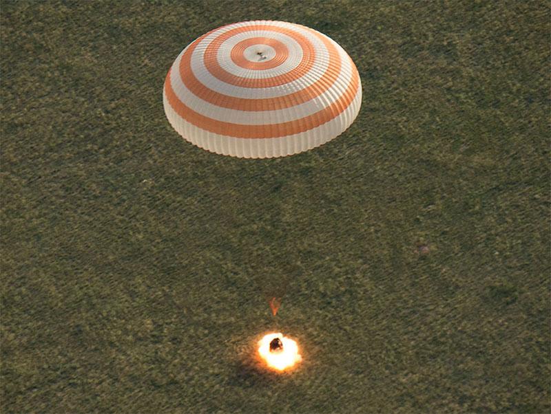 Aterrizaje de la TMA-15M