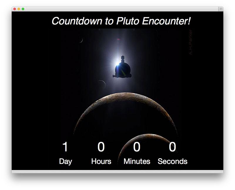 Un día a Plutón