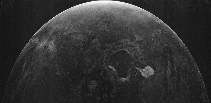 Venus en radar de 12,6 centímetros