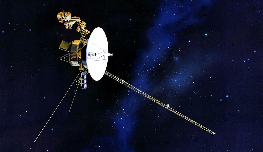 Impresión artística de la Voyager 1