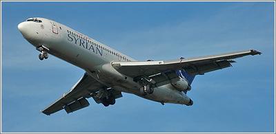 La sección delantera del fuselaje del B-727-200 es mucho más larga / Foto: Mottld {dominio público}