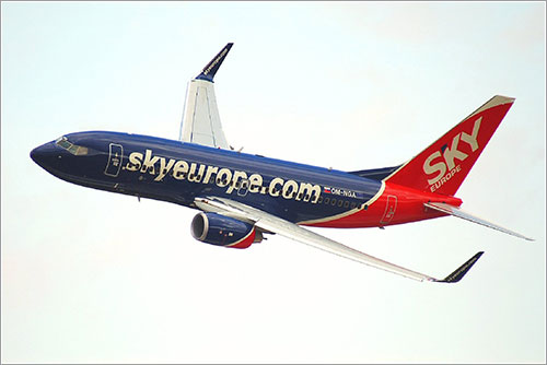 Boeing 737 de Skyeurope