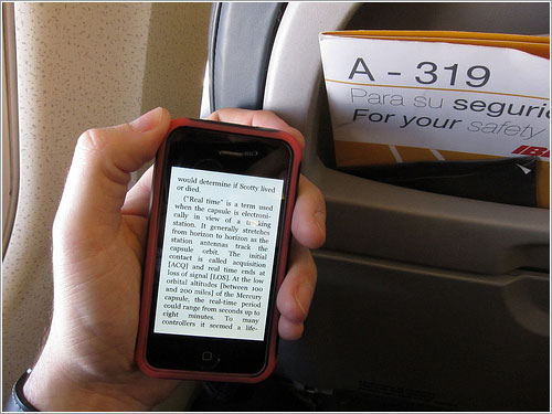 Kindle en vuelo