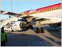 El avión en cuestión - Íñigo Noriega