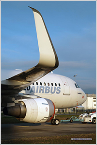Winglets Aviation Partners - Foto Airbus