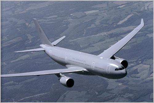 El A330MRTT del ensayo