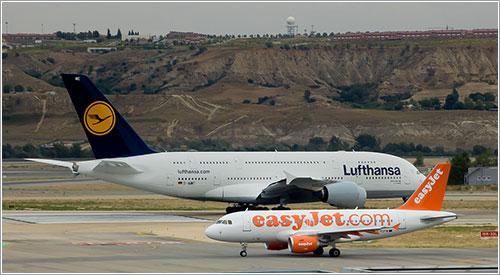 A380 y A319 por jmiguel rodríguez