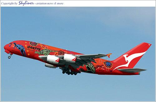 A380 Qantas - Skyliner Aviation