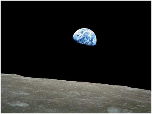 La Tierra vista desde la Luna - NASA