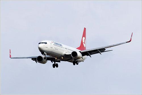 El avión accidentado llegando en 2008 a Barcelona
