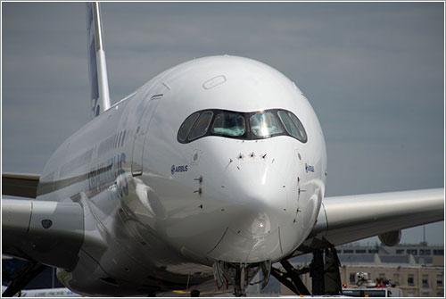 El primer prototipo de A350