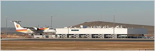 Primer avión en el aeropuerto de Ciudad Real