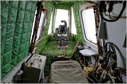 Cabina del artillero de cola