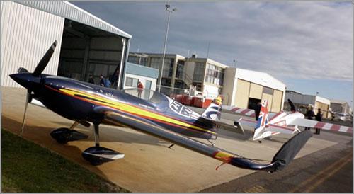 El nuevo avión de Alejandro Maclean
