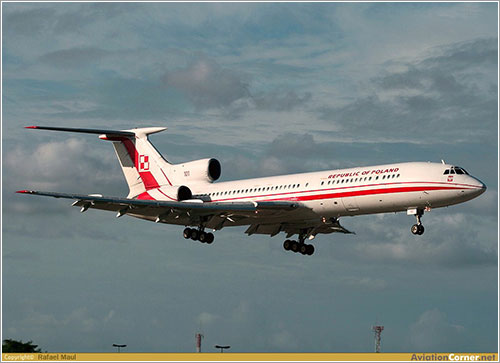 El avión siniestrado - Rafael Maul/AviationCorner