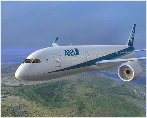 B787 de ANA - Boeing/ANA