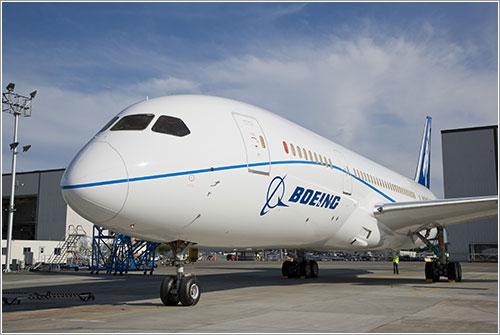 B787 con sus nuevos colores - Boeing