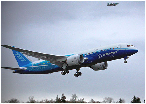 787 First Flight por Dave Sizer