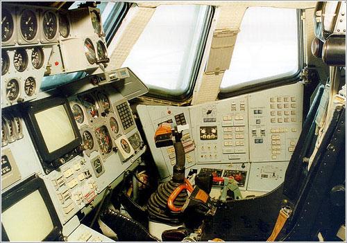 Cockpit del Buran