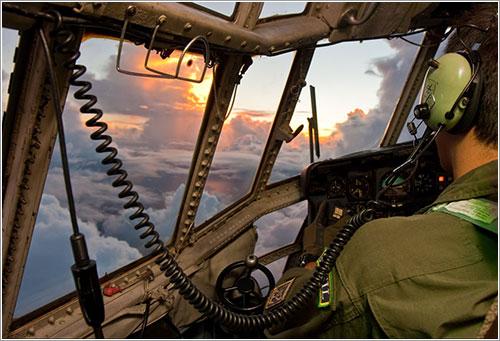 Búsqueda del AF-447 - Johnson Barros / Fuerza Aérea de Brasil