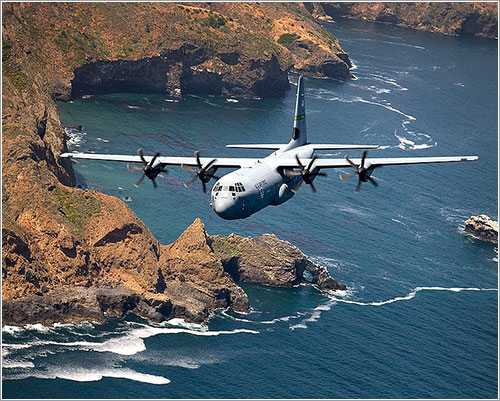 C130-J en vuelo - U.S. Air Force