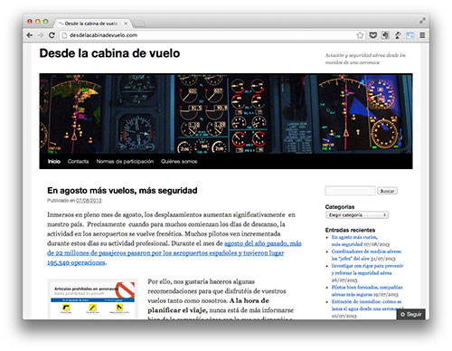 Blog del COPAC