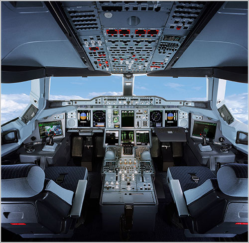 Cabina A380 - Airbus