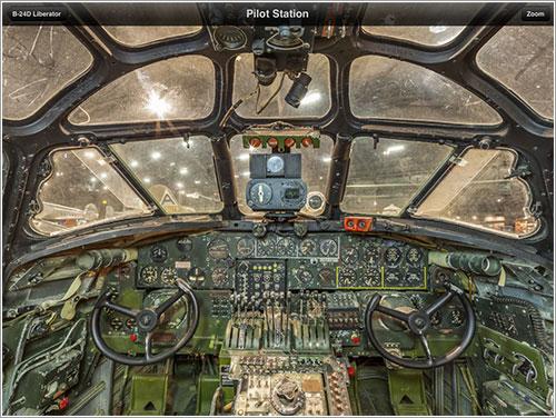 Cabina de un B-24D