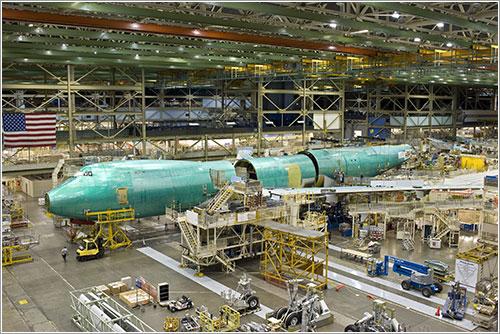 Cadena de producción del B-747