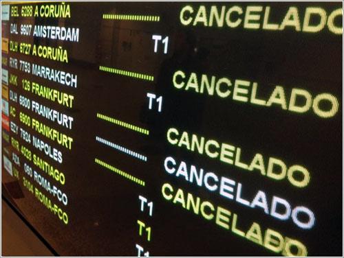 Cancelaciones Spanair