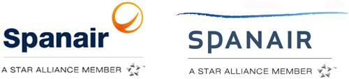 Candidatos para el nuevo logo de Spanair