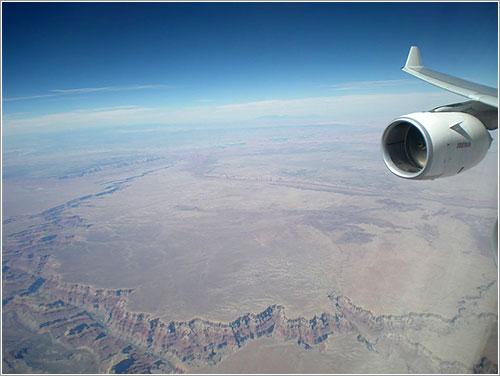 Cañón del Colorado desde el aire