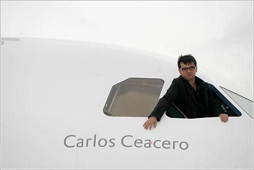 Carlos Ceacero por Luis Calvo