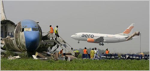 Aviones abandonados en Lagos