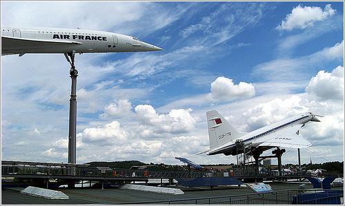 Concorde y Tu-144 por Luis Barreiro