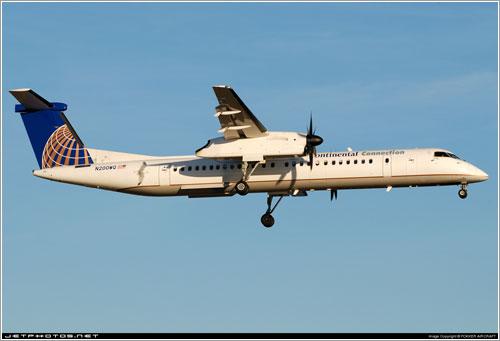 El avión siniestrado