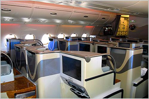 Clase ejecutiva en Emirates