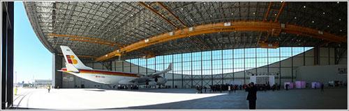 El EC-KOU inauguró el hangar