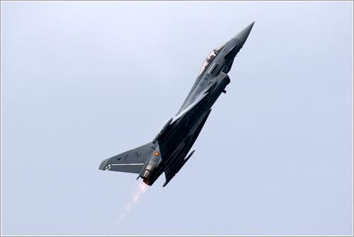 Eurofighter en vuelo - Javier Pedreira «Wicho»