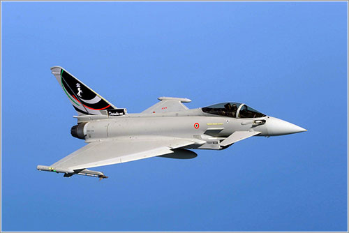 Eurofighter italiano con colores especiales