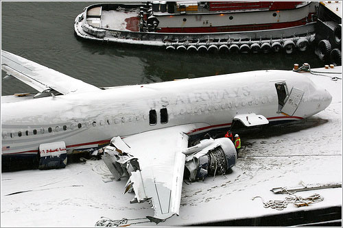 US Air flight 1549 out of the Hudson River por Lorcan Otway