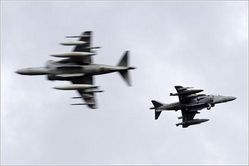 Harriers durante FAV07