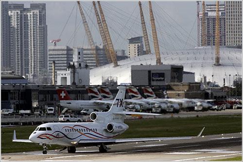 Falcon 7 en London City