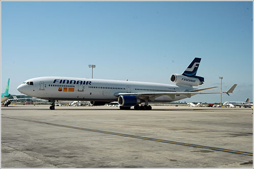 MD-11 de Finnair personalizado para el FC Barcelona