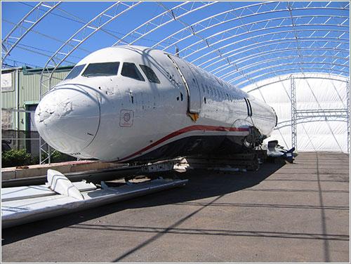 Fuselaje del N106US