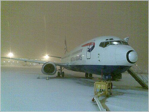 Foto de Heathrow nevado por dairncandy